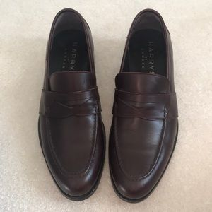 Harry's of London leather slip on penny loafer